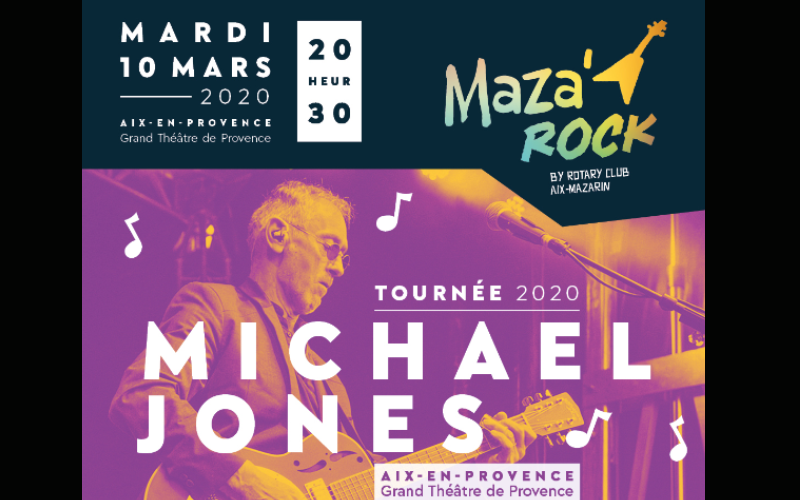 Michael Jones - 10 mars 2020 - Aix en Provence